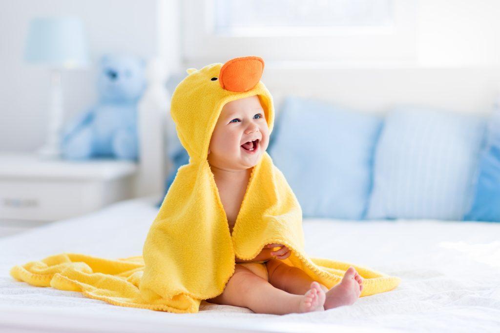 در ماههای سرد سال کودک خود را با خیال آسوده حمام کنید