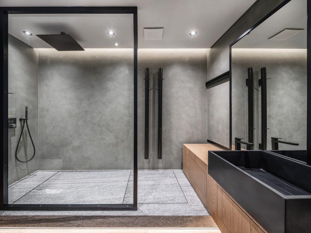 صفحات شیشه ای حمام