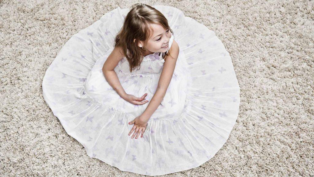 نظافت عمیق فرش شگی