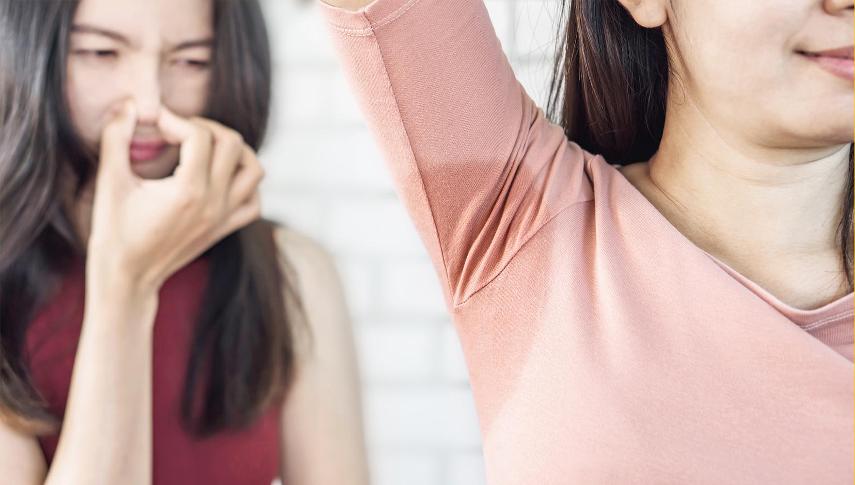 حذف بوی عرق از لباس های ورزشی