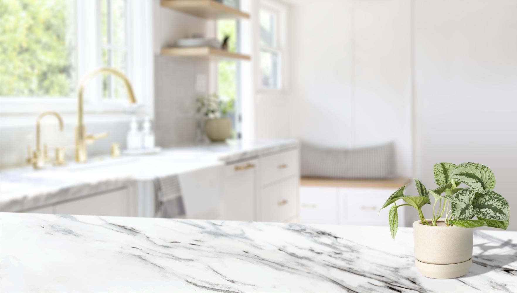نظافت و مراقبت از میزهای مرمر